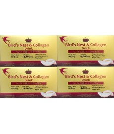 BIRD'S NEST & COLLAGEN DRINK (4 BOXES)