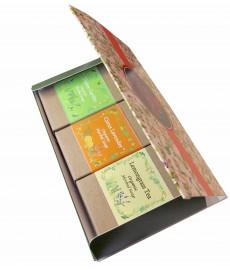 ORGANIC HERBAL SOAP (3 soaps)